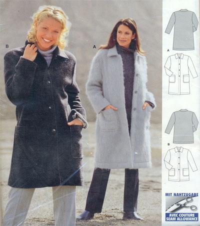 Описание: Выкройки короткого пальто. выкройки.