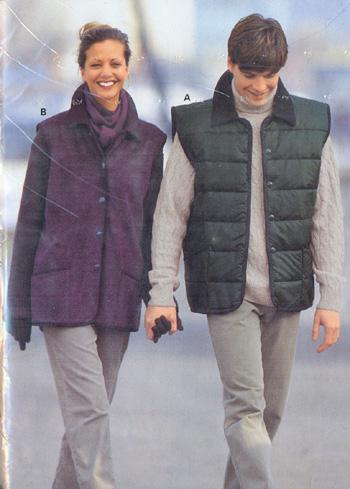 Выкройка Burda (Бурда) - Куртка.