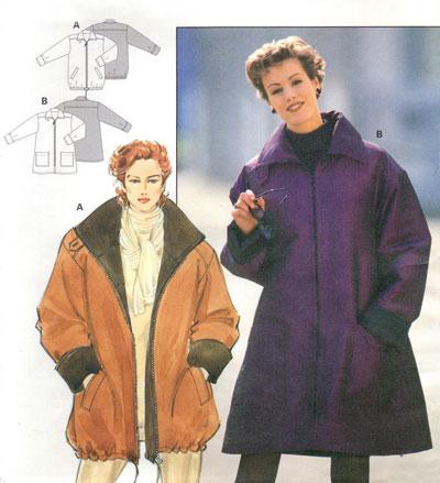 Выкройка Burda (Бурда) - Куртка, пальто.