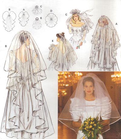 Wedding Saloon :: Выкройка свадебной фаты