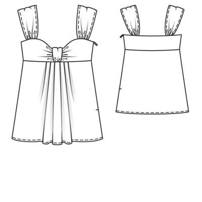 Блузки из трикотажа - Все о моде