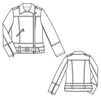 From gallery: выкройка куртки, выкройки женской одежды & выкройки.