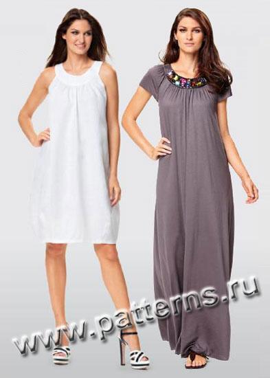 Выкройка Burda (Бурда) — Платье, Топ