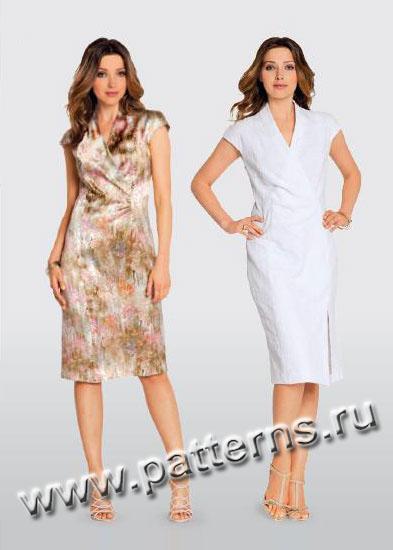 37bfa56e818 Выкройка Burda (Бурда) 3156 - Платье (снята с производства).