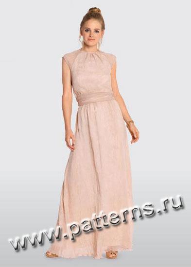 Выкройка Burda (Бурда) - Вечернее платье