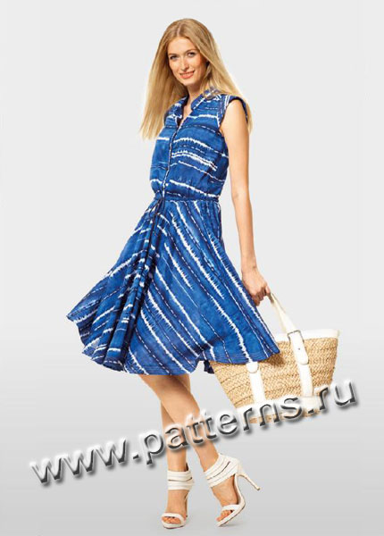 Выкройки платьев на лето