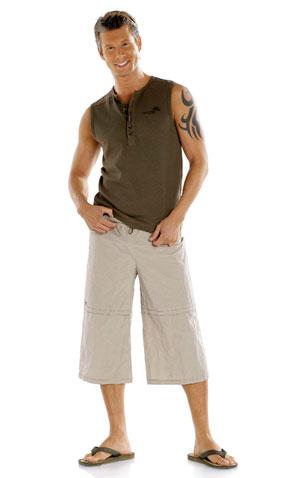 Выкройки шорт: шорты с поясом на