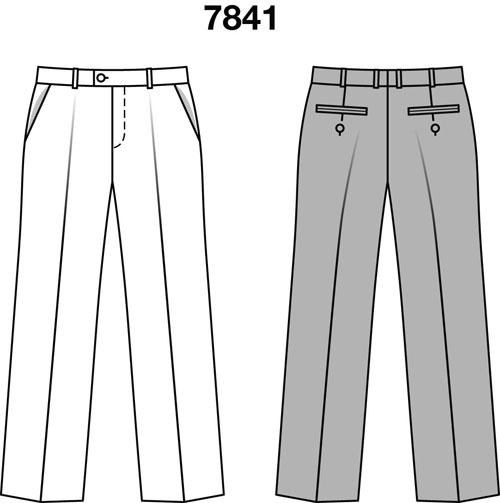 Как построить выкройки для детских джинсов
