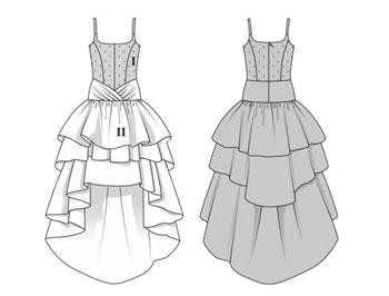 Свадебное Платье Для Тильды 9