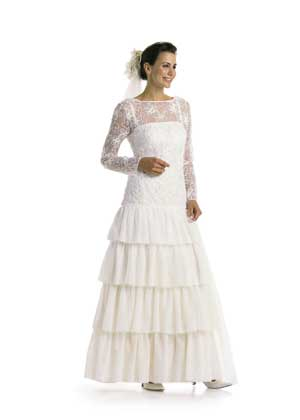 Выкройка Burda (Бурда) — Свадебное платье, вечернее