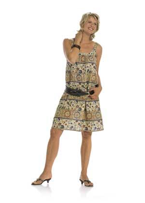 летние платья для полных с выкройками