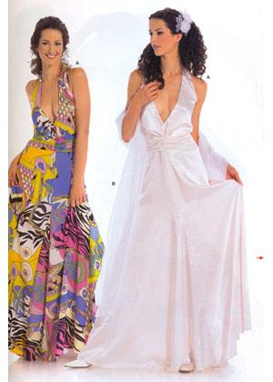 Описание: Выкройка Burda (Бурда) - Вечернее платье, Вечернее платье...