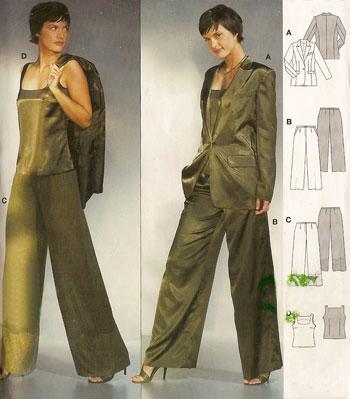 Модели и выкройки женских костюмов.