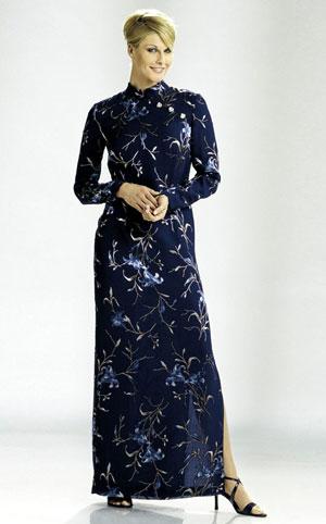 Комментарий платья в китайском стиле