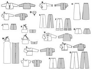 Burda бурда — барби комплект одежды