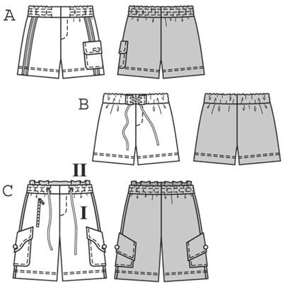 Автор: Admin Дата: 10.02.2015 Описание: Выкройка юбки-шорт строится на основе выкройки юбки-брюк