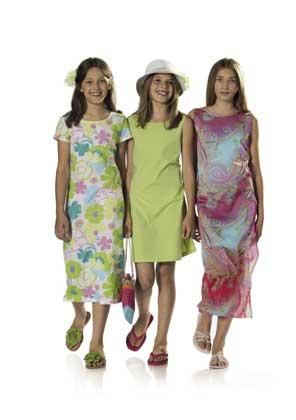 Выкройка Burda (Бурда) - Платье летнее.